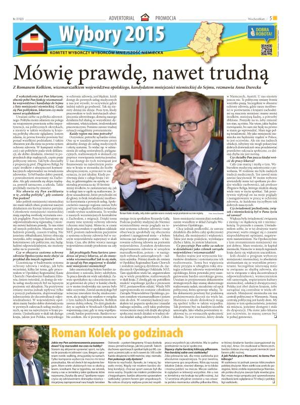 Artykuł w Wochenblatt.pl