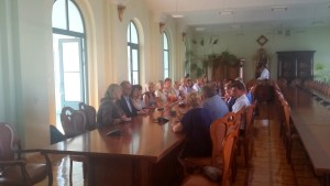 2015-08-14 Spotkanie z Pielęgniarkami oraz Ministrem Zembalą