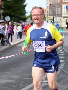 Na trasie sztafety firm Opolskiego Maratonu w 2014r