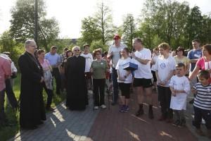 Sztafeta rodzinna Dyszka dla Serca organizowana podczas obchodów Odpustowych Św.Józefa w Jemielnicy
